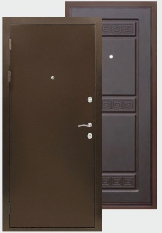 дверь металлическая гарант венге