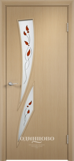 Цвет Type С-02, glazed (stained glass) White oak