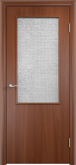 Цвет Reinforced Solid Door (PVC) Italian nut